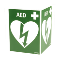 Defibrillator vinklad A4