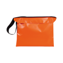 Bårväska i PVC orange