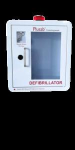 Defibrillatorskåp vit