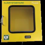 Defibrillatorskåp med värme
